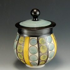 porcelain jar