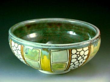 porcelain bowl, reductin fired